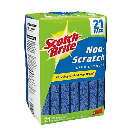 Scotch-Brite 21 Pack Non-Scratch Scrub Sponges