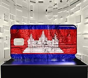 Funda Carcasa para Galaxy Note 3 Bandera CAMBOYA 07