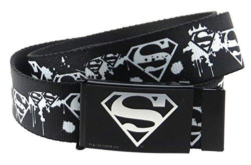 Superman Fashion Belt (Superman DC Comics Web Belt 1.5