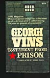 Georgi Vins Prisoner of Conscience, Georgi Vins, 0912692847