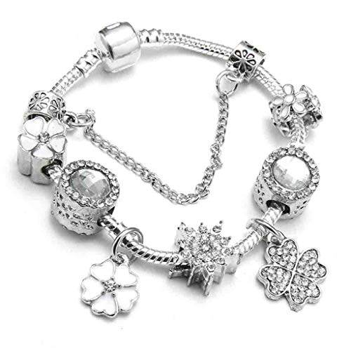 Gift with Regard to Girlfriend Spring Collection Western Charm Bracelet Luxury Manufacturer Crystal Beads Snake String Fine Bracelets Mother's Day time Gift Decoration