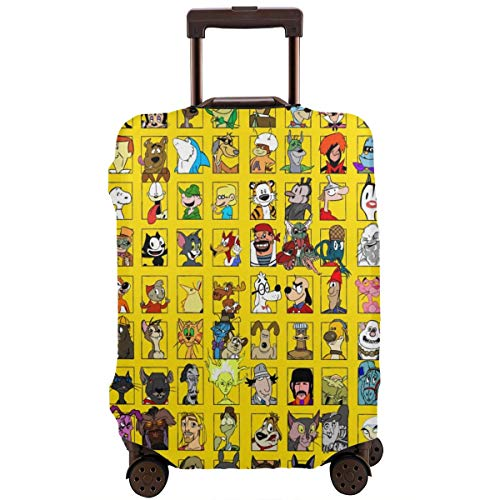 Anime Spirited Away Totoro Snoopy Travel Luggage Cover Suitcase Protector Washable Baggage Luggage Covers Zipper Fits 26…