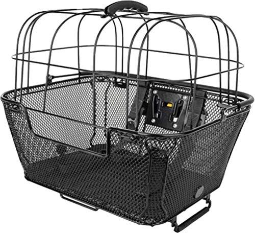 (Xlc Qr Pet Bask Fr/Rr Bk Qr Front / Rack Top Bask W/ Pet Cage And Qr Mount)