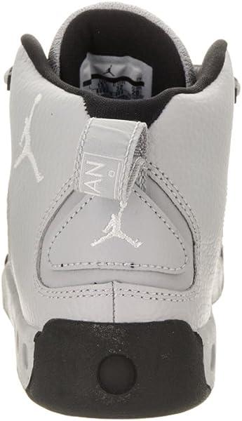 dab8695d6472 Jordan Jumpman Pro BP Little Kids Shoes Wolf Grey White Black 909419 ...