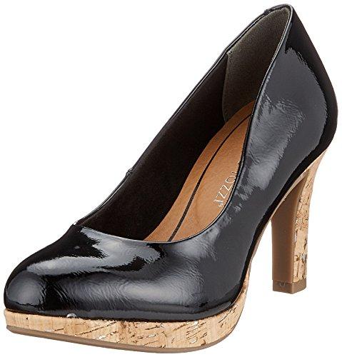 Tozzi Com Escarpins 22421 Marco Pat Noir Black Femme Uw00q
