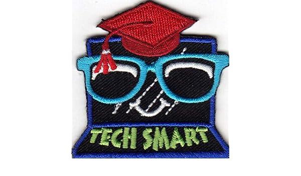 "SCHOOL /""TECH SMART/"" IRON ON PATCH LEARNING TECHNOLOGY"