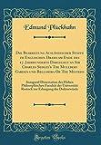 Die Bearbeitung Ausländischer Stoffe im Englischen Drama am Ende des 17. Jahrhunderts Dargelegt an Sir Charles Sedley's The Mullbery Garden und der Universität Rostock (German Edition)