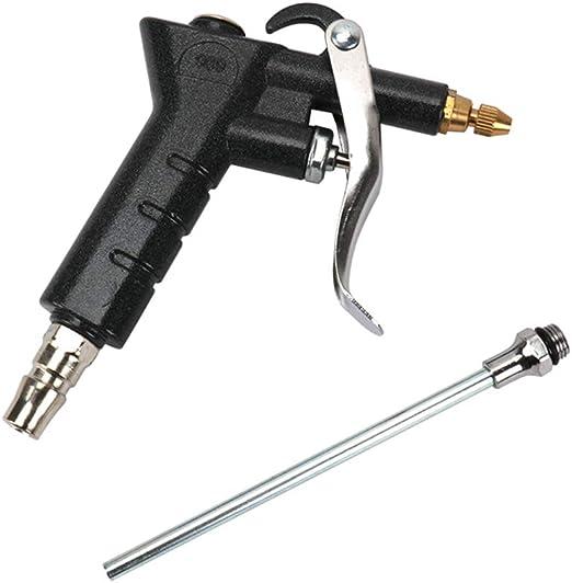 Pistola de soplado de boquilla de aire con boquilla extendida de 5 ...