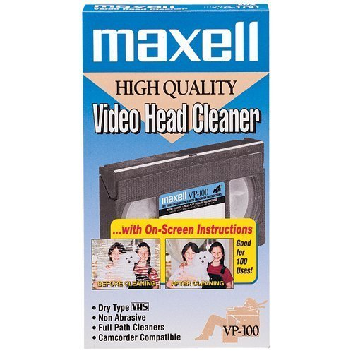 Maxell VP-100 VHS Head Cleaner