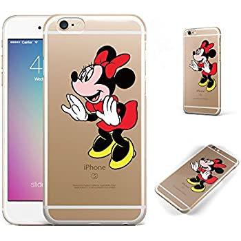 Amazon.com: Disney iPhone 5, 5s Clear Case with Mickey and