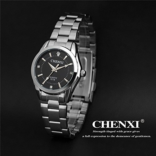 5 Fashion colors CHENXI CX021B Brand relogio Luxury Women's Casual watches waterproof watch women fashion Dress Rhinestone watch.