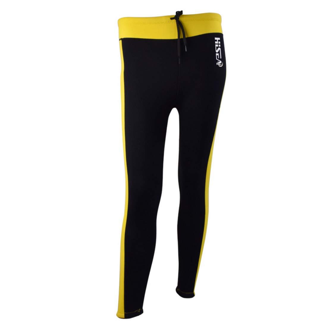 KERVINJESSIE Wetsuit Long Pants Women's 2.5mm Neoprene Fabric Water Sports Warmth