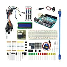 LANDZO Arduino Basic Kit with Arduino UNO R3 for Arduino Starter