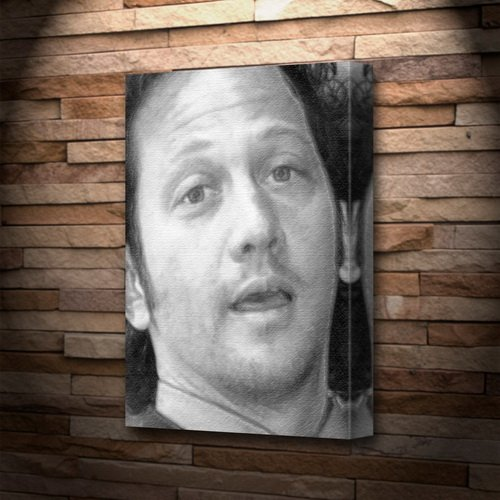ROB SCHNEIDER - Canvas Print (LARGE A3 - Signed by the Artist) #js001