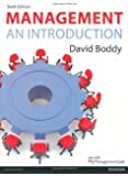 Management: An Introduction by David Boddy (18-Dec-2013) Paperback