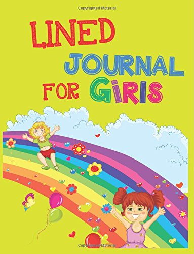 Lined Journal For Girls: 8.5 x 11, 108 Lined Pages (diary, notebook, journal, workbook)