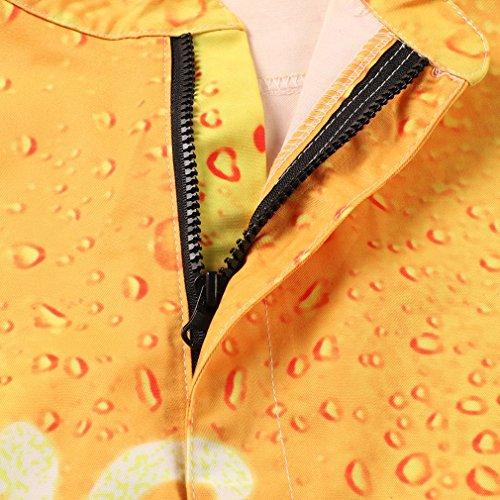 3d pantalon de salopette Zip la costume à Designer barboteuse dessinée manches Onesie bande cool Up combinaison bière courtes Onesie graphique 5EEqnraAT