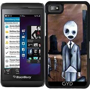 Funda para Blackberry Z10 - Gente Espeluznante by hera56