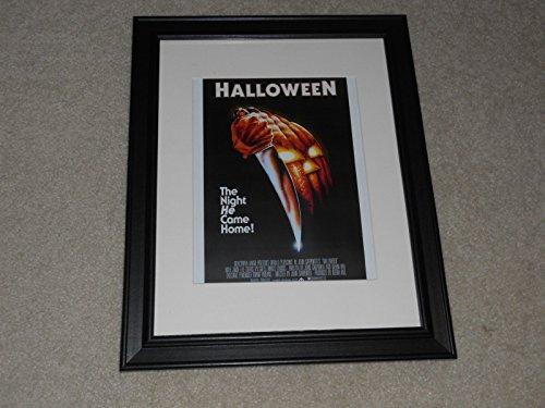 Halloween 1978 John Carpenter Theatrical Poster Framed Print Mini-Poster 14