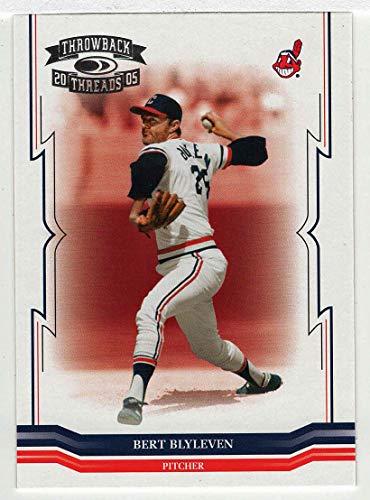 Bert Blyleven (Baseball Card) 2005 Donruss Throwback Threads # 279 NM/MT