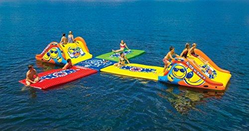 WoW Watersports 18-2000 Slide N Smile Floating 2 Lane Waterslide, 9 Feet Long by WoW Sports (Image #5)