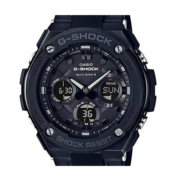 CASIO Reloj Analógico-Digital para Hombre Correa en Resina GST-W100G-1BER 4