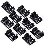 Diymore Socket Adapter Plate Board 8-Pin NRF24L01+ Wireless Transceiver Module (10pcs)