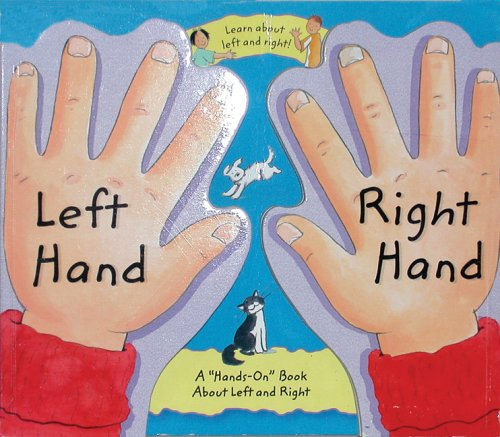 amazon com left hand right hand a hands on book about left and