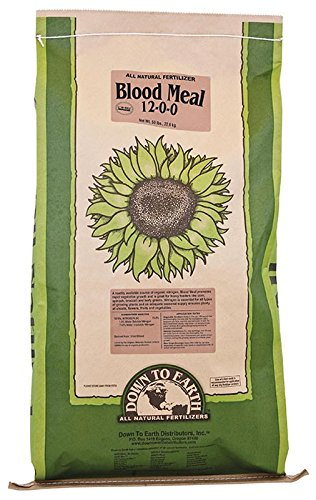 Down to Earth Blood Meal Fertilizer, 50 lb.