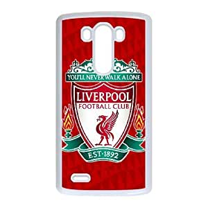 LG G3 Phone Case White Liverpool Logo HDS336777