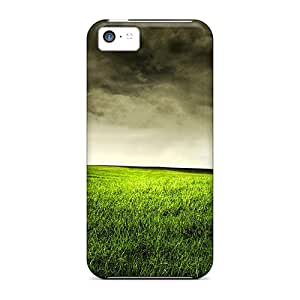 Premium Protection Stormy Field Cases Covers For Iphone 5c- Retail Packaging