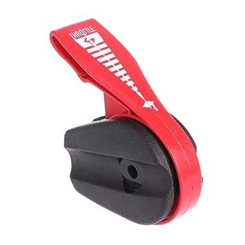 Interruptor de acelerador universal para cortacésped y palanca de ...