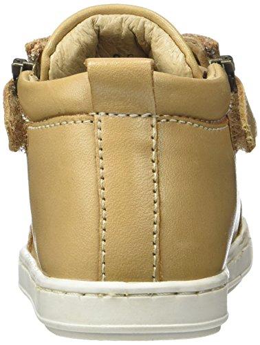 Shoopom Bouba Bi Zip - Primeros Pasos de Otra Piel Bebé-Niñas marrón (camel)