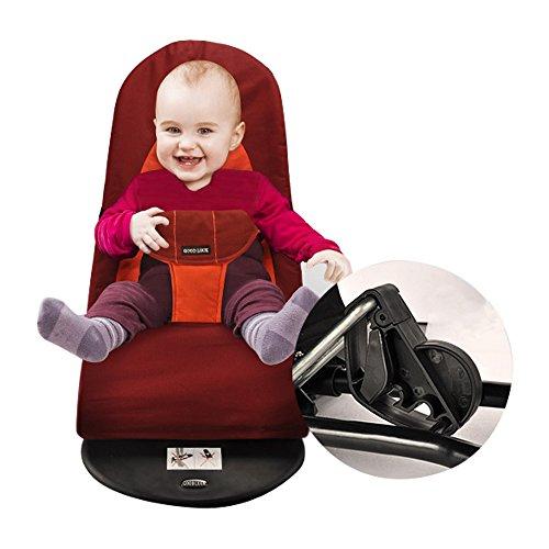 Baby Balance Chair Rocker Bouncer Chair Red - 2