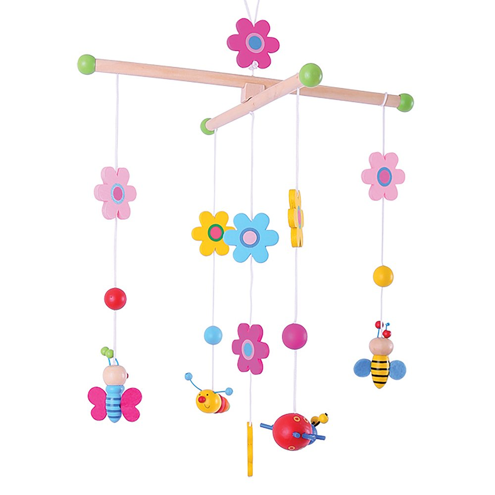 Bigjigs Toys Wooden Garden Mobile 691621008720