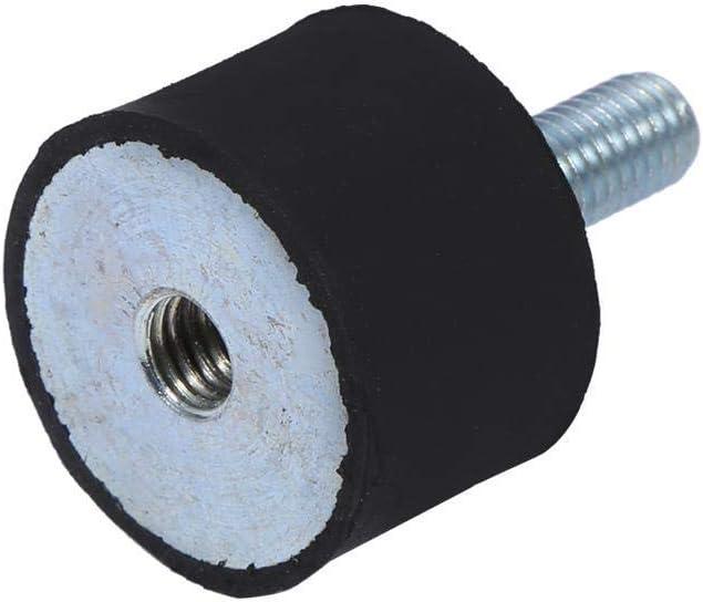 4Pcs Supports isolateur en caoutchouc Amortisseur Anti Vibration M6//M8 Bobines pour Bateau Voiture Taille : M6