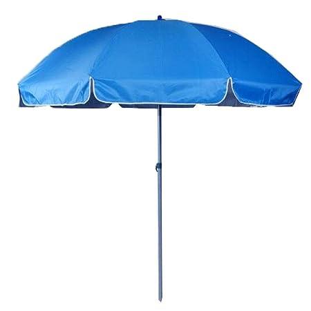 GEXING-Umbrella Paraguas Redondo, Paraguas Al Aire Libre Al Aire ...