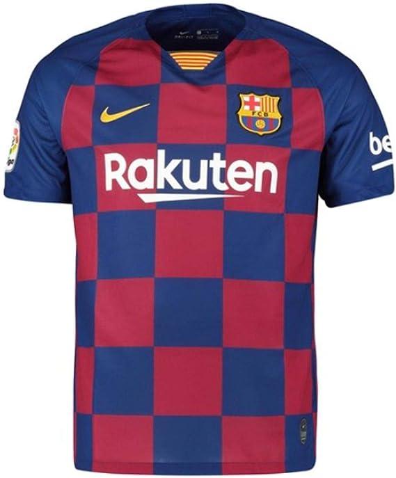 UKSoccershop 2019-2020 Barcelona Home Nike - Camiseta de fútbol (Lionel Messi 10): Amazon.es: Deportes y aire libre
