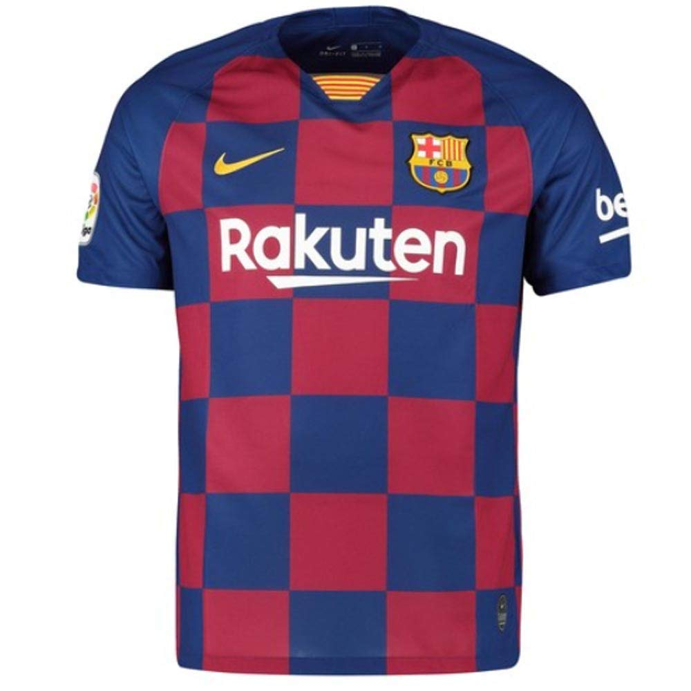 UKSoccershop 2019-2020 Barcelona Home Nike - Camiseta de fútbol ...