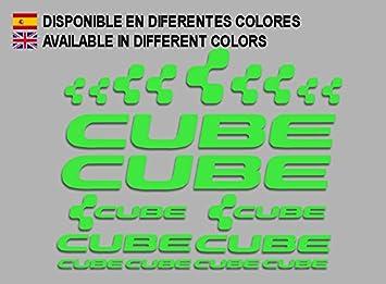 Ecoshirt CM-IML3-8FCE Pegatinas Cube F177 Vinilo Adesivi Decal ...