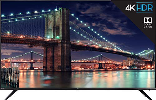 TCL 55R617-CA 4K Ultra HD Smart LED Television (2019)