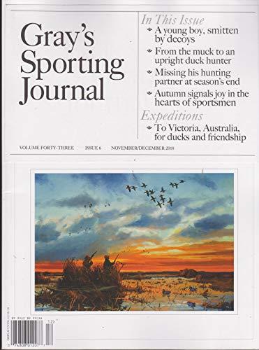 Grays Sporting Journal Magazine November December 2018