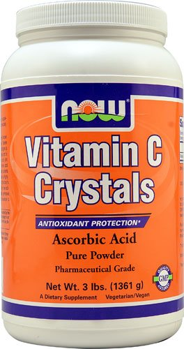 NOW Foods Vitamin C Crystals -- 3 lbs - 3PC by NOW Foods
