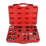 Keenso 27 Pcs Car Camshaft Crank Crankshaft Oil Seal Remover Installer Removal Tool Kit