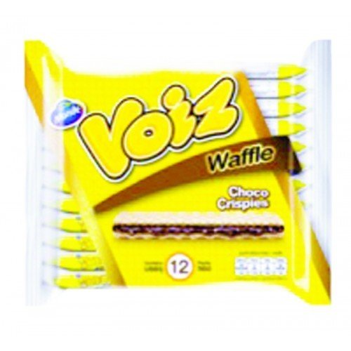 Wow Christmas Quests - Monde Voiz Waffle Choco Crispies 23g (Pack of 12)