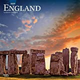 England 2020 12 x 12 Inch Monthly Square Wall Calendar, UK United Kingdom Scenic
