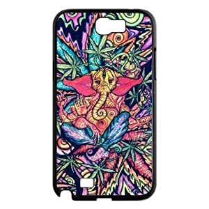 Funny Trippy Elephant Hard Snap-on Covers For Case Samsung Note 3 Cover