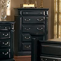 Progressive Furniture Torreon Chest, 38 x 18 x 54, Antique Black