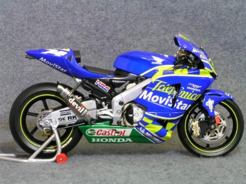 1/12 Honda RC211V モトGP2003 MoviStar #74(ブルー×イエロー) 122037174