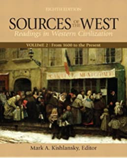 Amazon western civilization a brief history 9781305633469 sources of the west volume 2 from 1600 to the present 8th edition fandeluxe Images